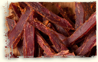 Fiery Hot spicy jerky